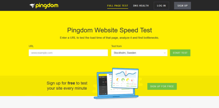 hitrost spletne strani